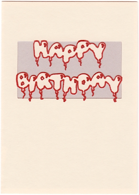 happy birthday card copy