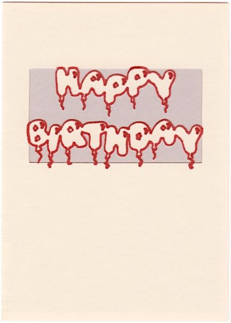 happy birthday card copy
