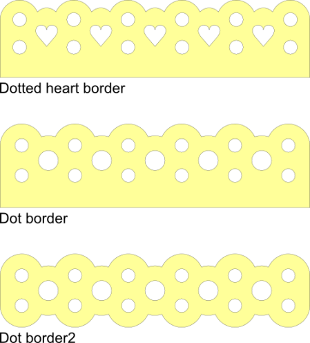 Three Dotted Border Svg Files Images By Heather M S Blog