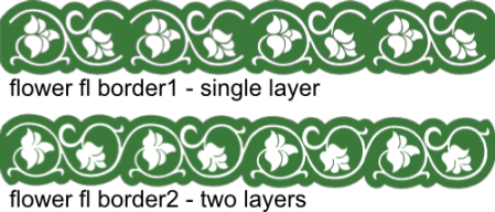 flower flourish borders text
