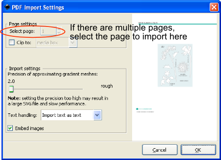Using Inkscape to convert PDF templates to SVG | Images By