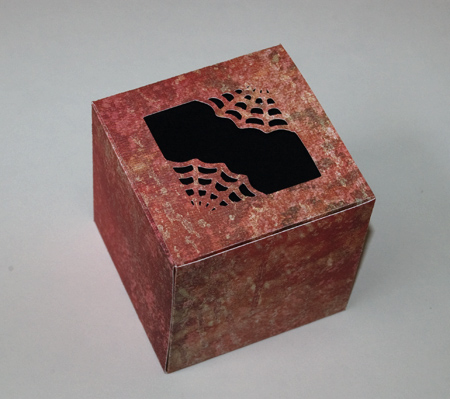 spiderweb box