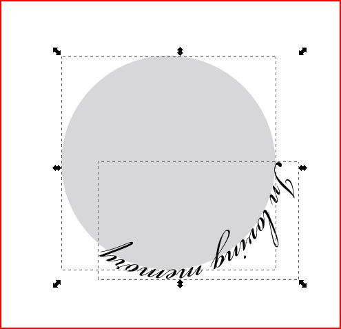 Text in a circle using Inkscape | Images By Heather M's Blog