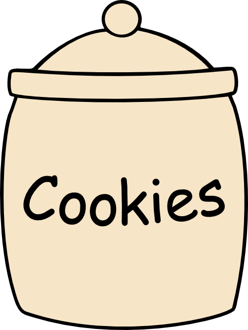 Zany image inside cookie template printable