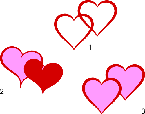 double heart svg files images by heather m s blog rh imagesbyheatherm wordpress com clipart images of double heart Interlocking Hearts Clip Art