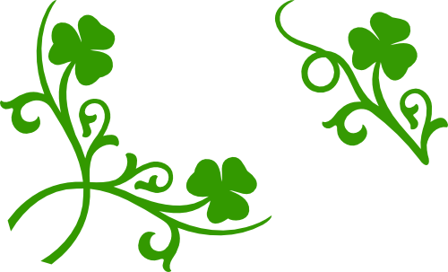 Shamrock corner and accent svg files images by heather ms blog the voltagebd Images