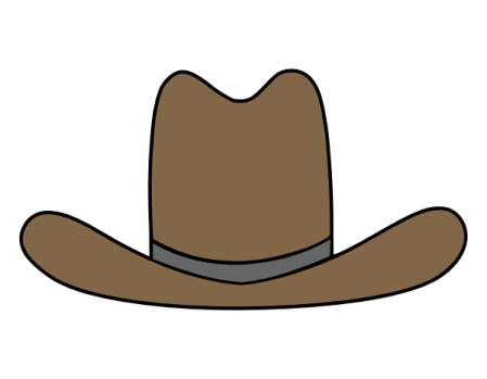 Cowboy hat svg file | Images By Heather M's Blog