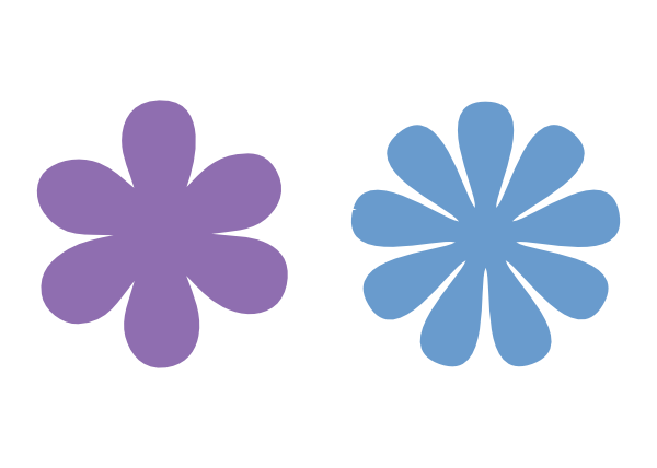 6 and 9 petal flower svg files | Images By Heather M's Blog