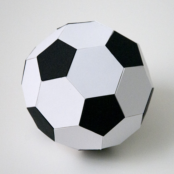 3D Soccer Ball Svg Files