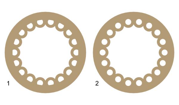 Circle inner half loop frame   Images By Heather M\'s Blog