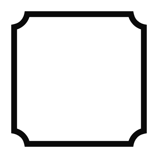 Simple rounded corner frame images by heather m 39 s blog for Picture frame corners