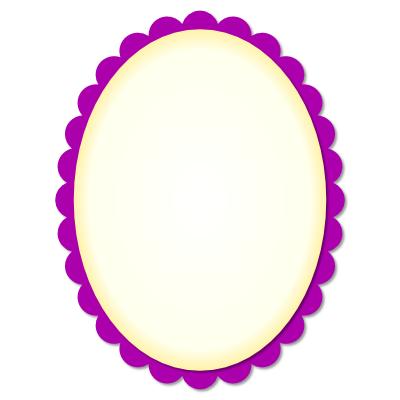 IHM scalloped oval
