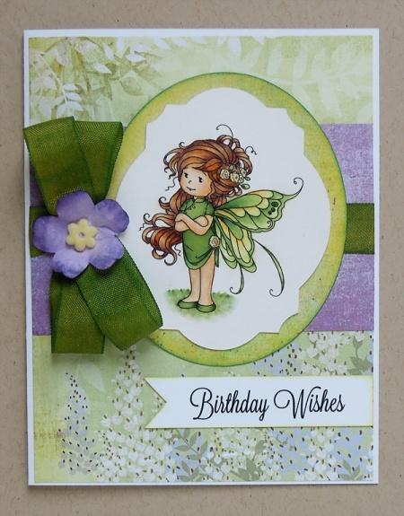 HeatherM summer fairy card