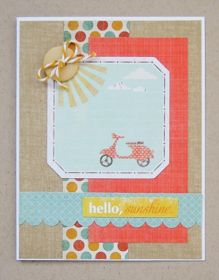 HeatherM Hello Sunshine card