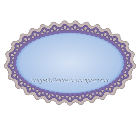 IHM large eyelet oval svg and dxf files