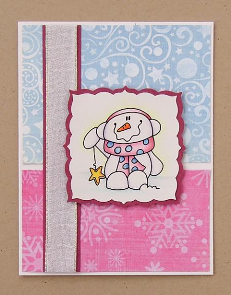 "HeatherM using Bugaboo ""lil snowman star"" digi"