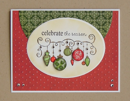 "HeatherM using Unity ""Celebrate the Season"" stamps"