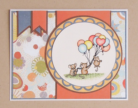 "HeatherM using From the Heart Stamps ""Balloon Ride"" digi"