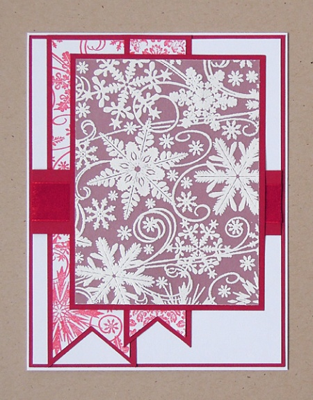 HeatherM using ODB snowflake background stamp