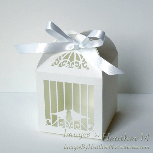 Birdcage favor box svg file | Images By Heather M's Blog