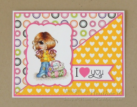 "HeatherM using Lacy Sunshine digi ""Rory Love Letters"""