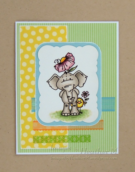 "HeatherM using Bugaboo digi ""Edward Elephant - Flower"""