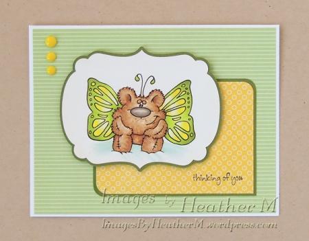 HeatherM using Doodle Dragon Flutter Bear digi