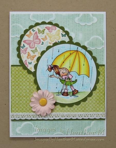 """HeatherM using Sassy Cheryl """"Sam's Rainy Day"""" digi"""
