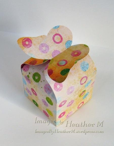 IHM butterfly flap box svg file
