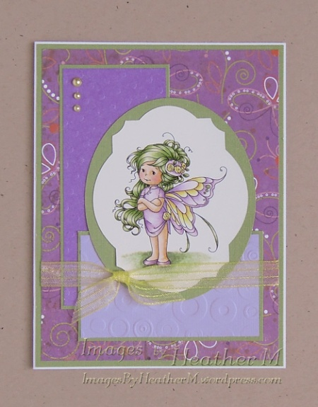 "HeatherM using Wee Stamps ""Summer Fairy"" digi"