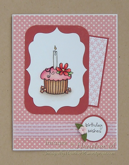 "HeatherM using Designed 2 Delight ""Spring Cupcake"" digi"