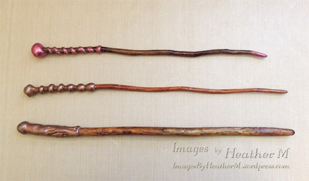 Magic wands by HeatherM