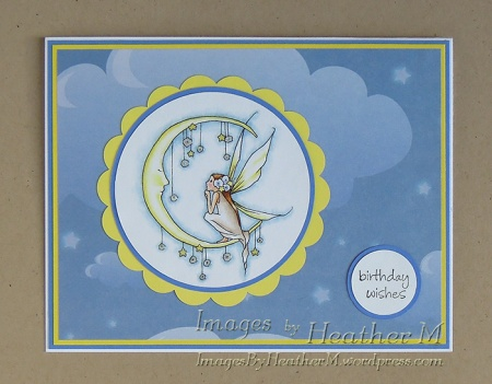 """HeatherM using A Day For Daisies """"Talking with the Moon"""" digi"""