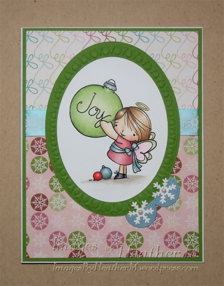 "HeatherM using From The Heart Stamps ""Angel Joy"" digi"