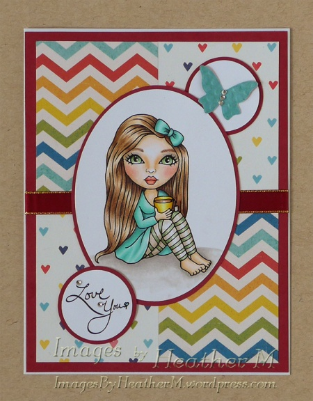 "HeatherM using Karleigh Sue Digis ""Cuppa Time"" digi"