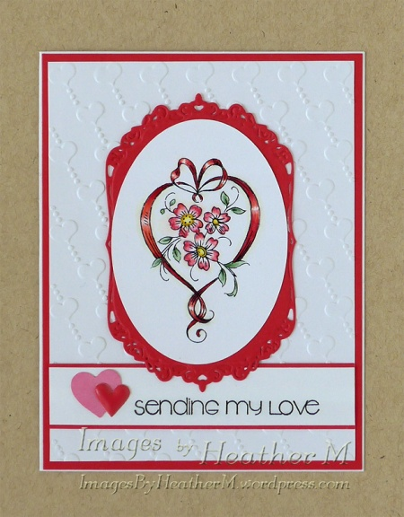 HeatherM vintage heart