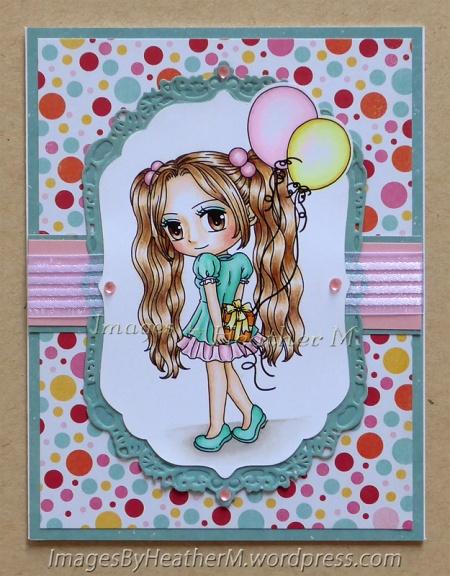 "HeatherM using Art By Mi Ran ""Party Time Patti"" digi"