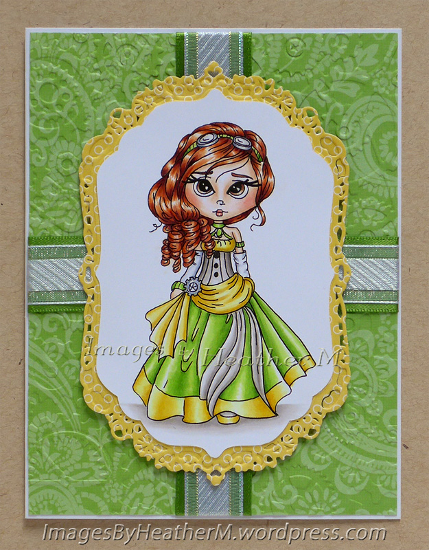 "HeatherM using Lacy Sunshine ""Steampunk Cindy To the Ball"" digi"