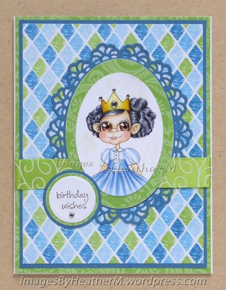 "HeatherM using The East Wind ""Baby Aurora-Birthday Princess"" digi"