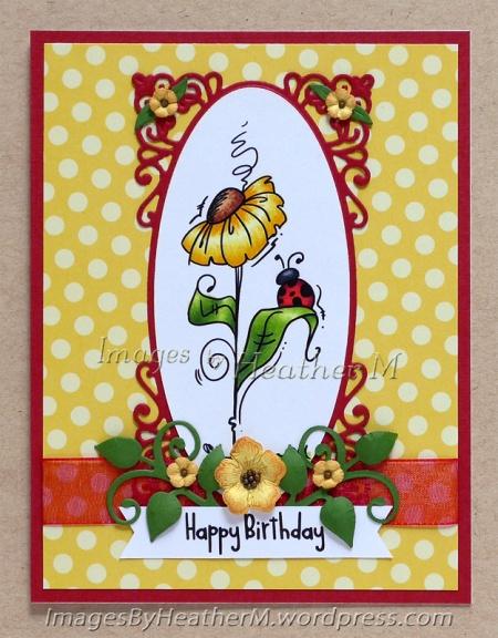 "HeatherM using Bugaboo ""Dollar Flower Bug"" digi"