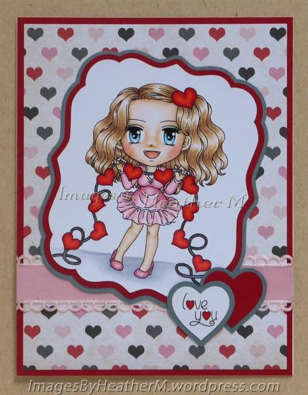 "HeatherM using Art By Mi Ran ""Heartstrings"" digi"