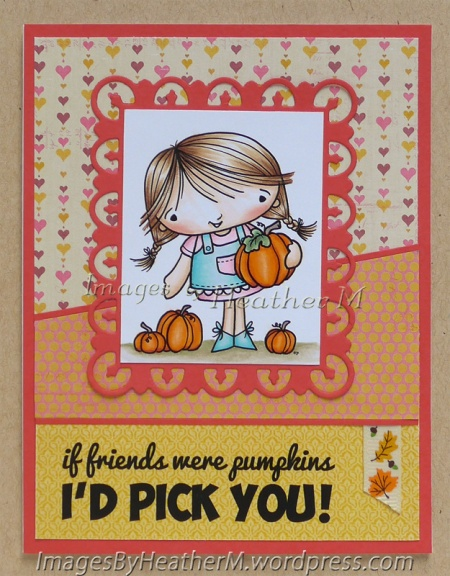 "HeatherM using From The Heart Stamps ""Pumpkin Patch Girl"" digi"