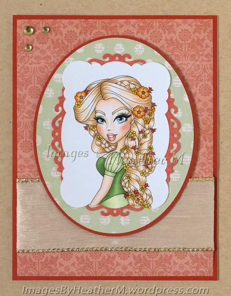 "HeatherM Sassy Studio ""Rapunzel Sassy"" digi"