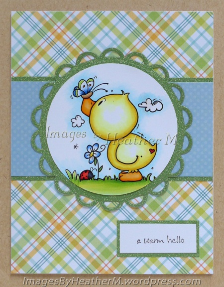 "HeatherM using Bugaboo Stamps ""Spring Duck"" digi"