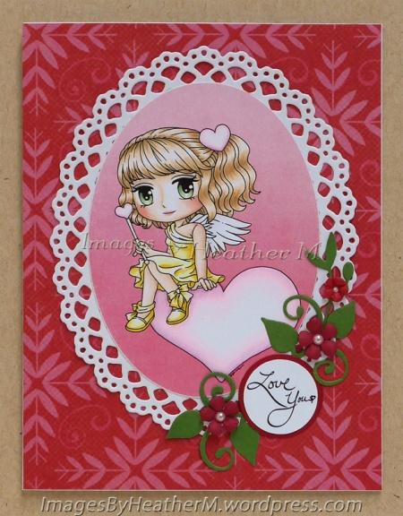 "HeatherM using Art by Mi Ran ""Angelica"" digi"