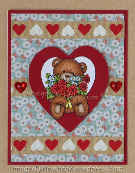 "HeatherM using Morgan's Artworld ""Teddy Heart"" digi"