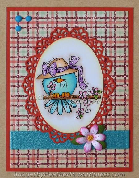 "HeatherM using Bugaboo ""Flower Bird"" digi"