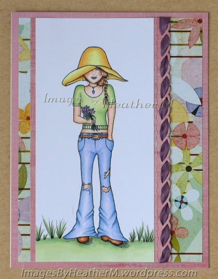 "HeatherM using SheepSki Designs ""Annabel"" digi"