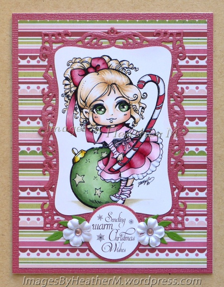 "HeatherM using Star Stampz ""Christmas Elf Ornament"" digi"