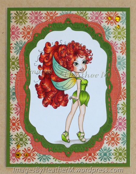 "HeatherM using Art by Barb ""Fairy Gurl"" digi."